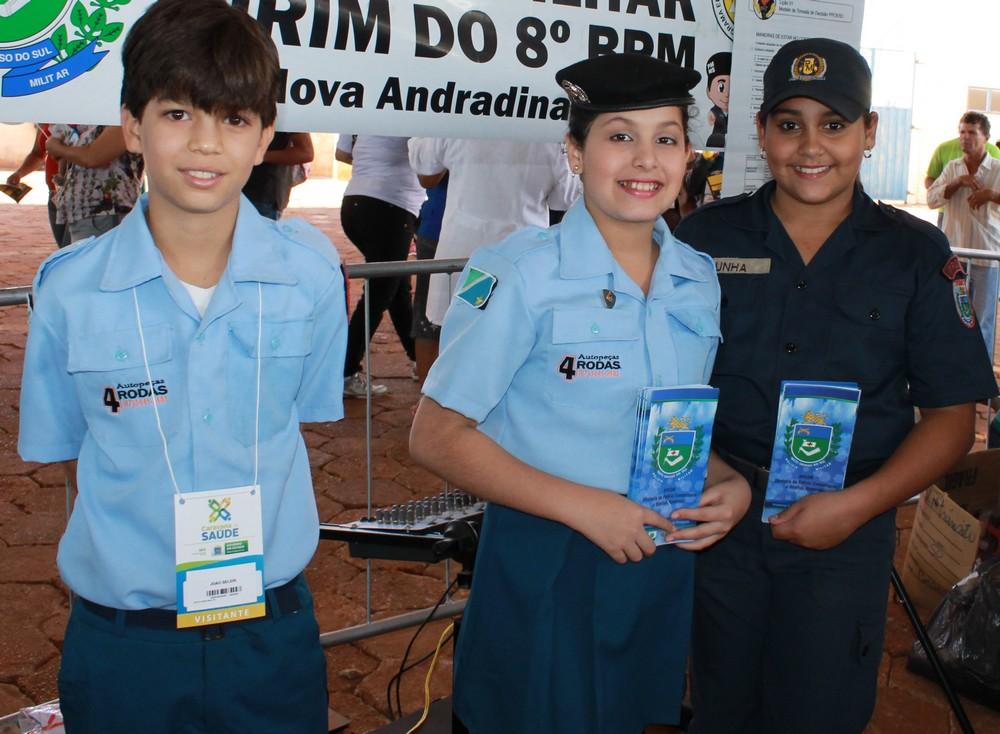 Polícia Mirim Caravana da Saúde