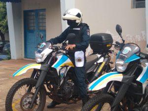 BPMTran capacita alunos policiais para patrulhamento em motocicletas