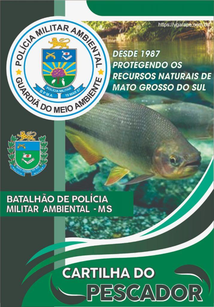 Polícia Ambiental disponibiliza Cartilha do Pescador 2021 com todas regras de pesca